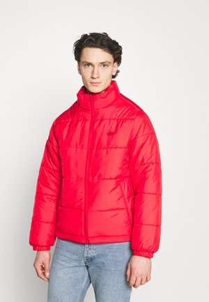 PAD STAND PUFF - Winter jacket - scarlet