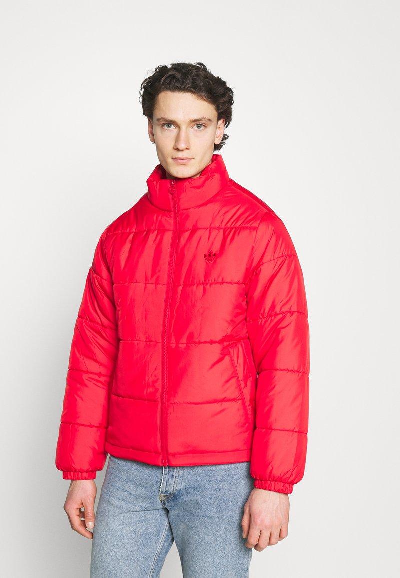 adidas Originals - PAD STAND PUFF - Winter jacket - scarlet