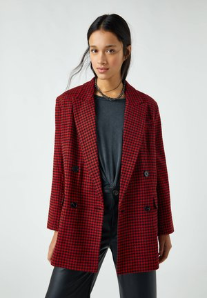 Short coat - red