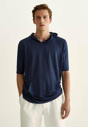 Basic T-shirt - blue black denim