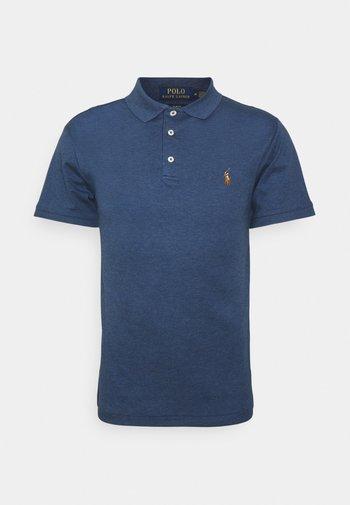 Polo shirt - derby blue heather