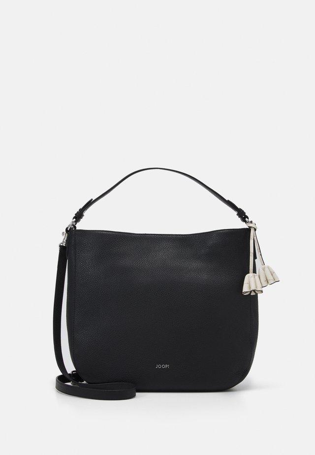 CHIARA ELIZA HOBO - Handbag - black
