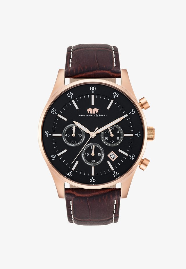 GOODWILL - Cronografo - dark brown