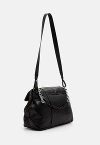 Armani Exchange - BIG FLAP SHOULDER - Handbag - nero - 1