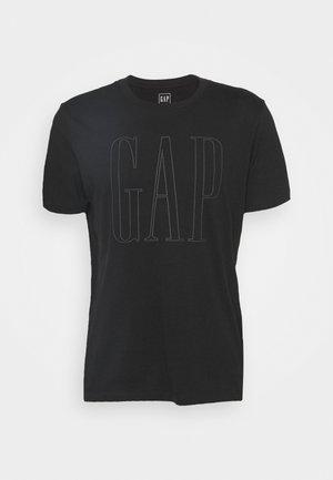LOGO - Camiseta estampada - true black