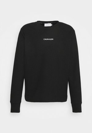 LIGHTWEIGHT - Sweatshirt - black