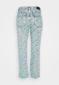 KARL LAGERFELD - TETRIS - Straight leg jeans - blue denim - 1