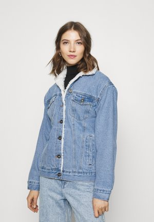 SLOUCHY JACKET - Denim jacket - aireys blue