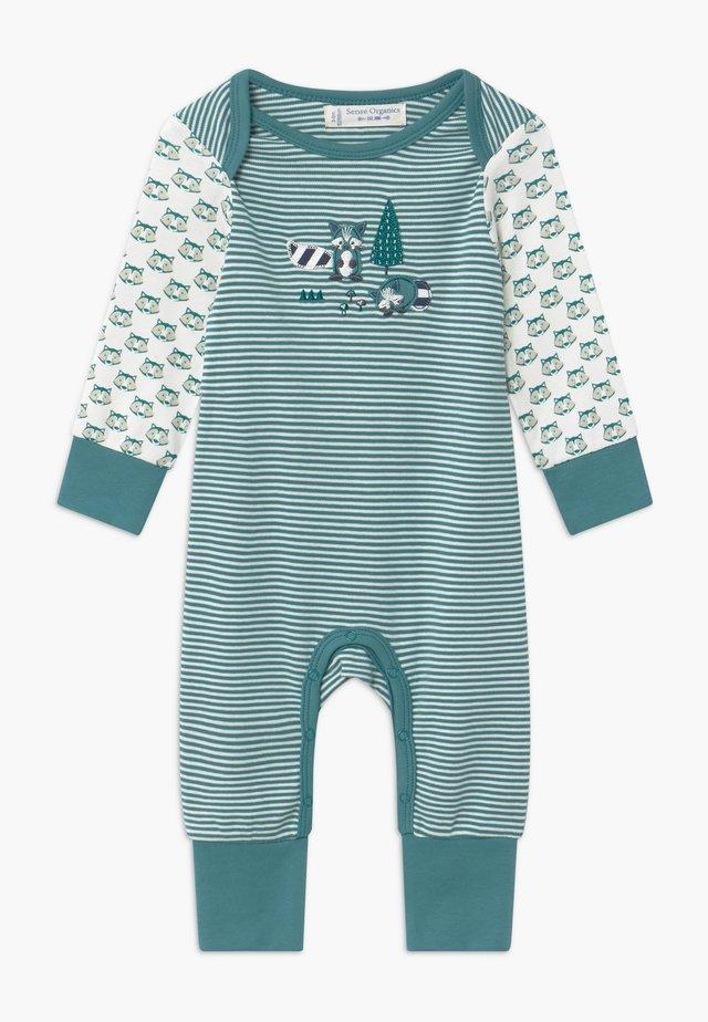 WAYAN BABY ROMPER - Piżama - teal