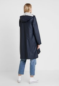 Ilse Jacobsen - TRUE RAINCOAT - Parkatakki - dark indigo - 2