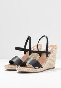 Steve Madden - MCKENZIE - High heeled sandals - black - 4