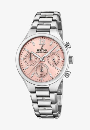 Chronograph watch - light pink