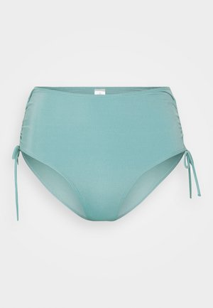TANJA HIGHWAIST - Bikinibroekje - turquoise dusty light