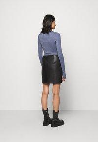 HUGO - LOMIAS - Mini skirt - black - 2