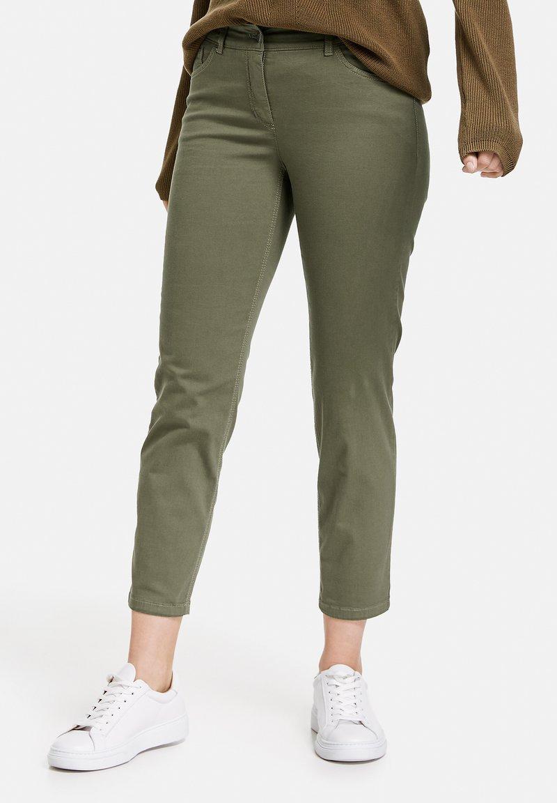 Gerry Weber - Slim fit jeans - green