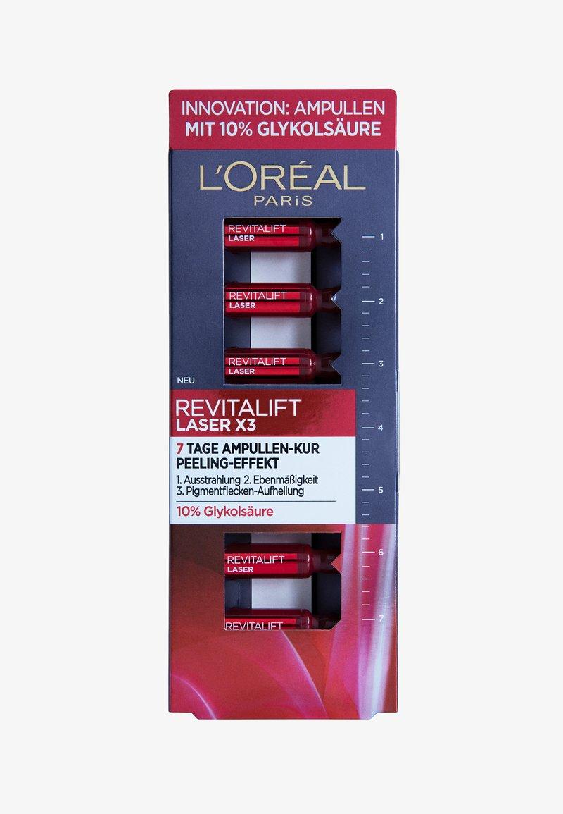 L'Oréal Paris - REVITALIFT LASER X3 7-TAGE-AMPULLEN-KUR - Serum - -