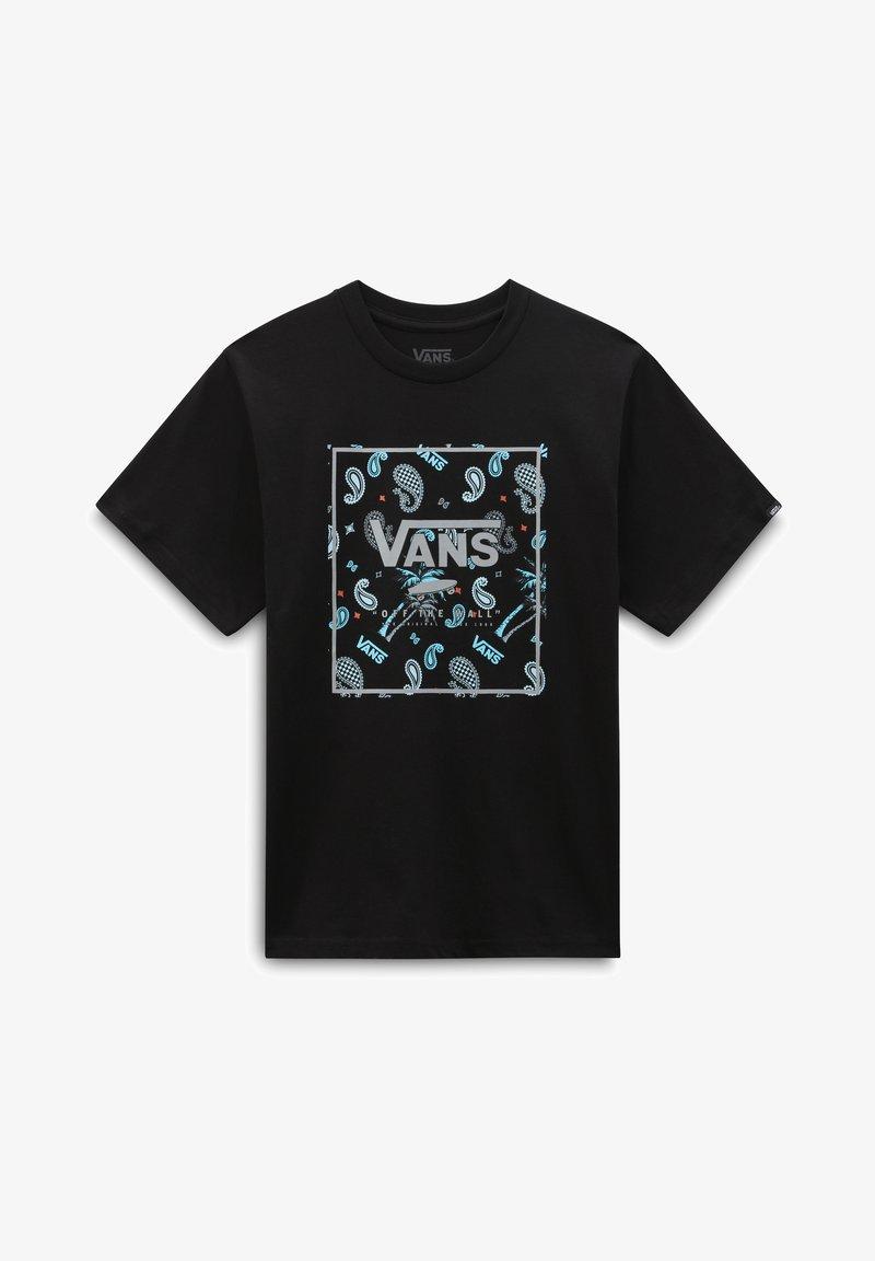 Vans - BY BOYS BANDANA BOX SS - T-shirt imprimé - black