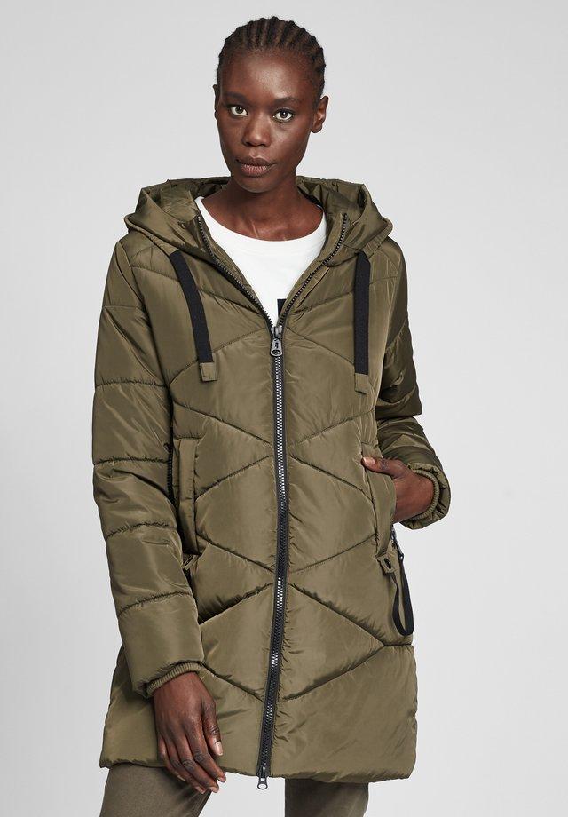 MIT KAPUZE - Winter coat - ivy green