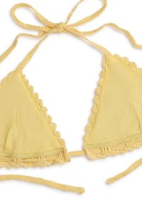 OYSHO - Bikini top - yellow - 6