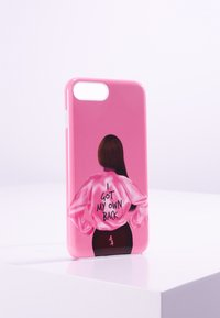 Antwerp Avenue - iPhone 6/7/8 PLUS - Telefoonhoesje - pink/black - 0
