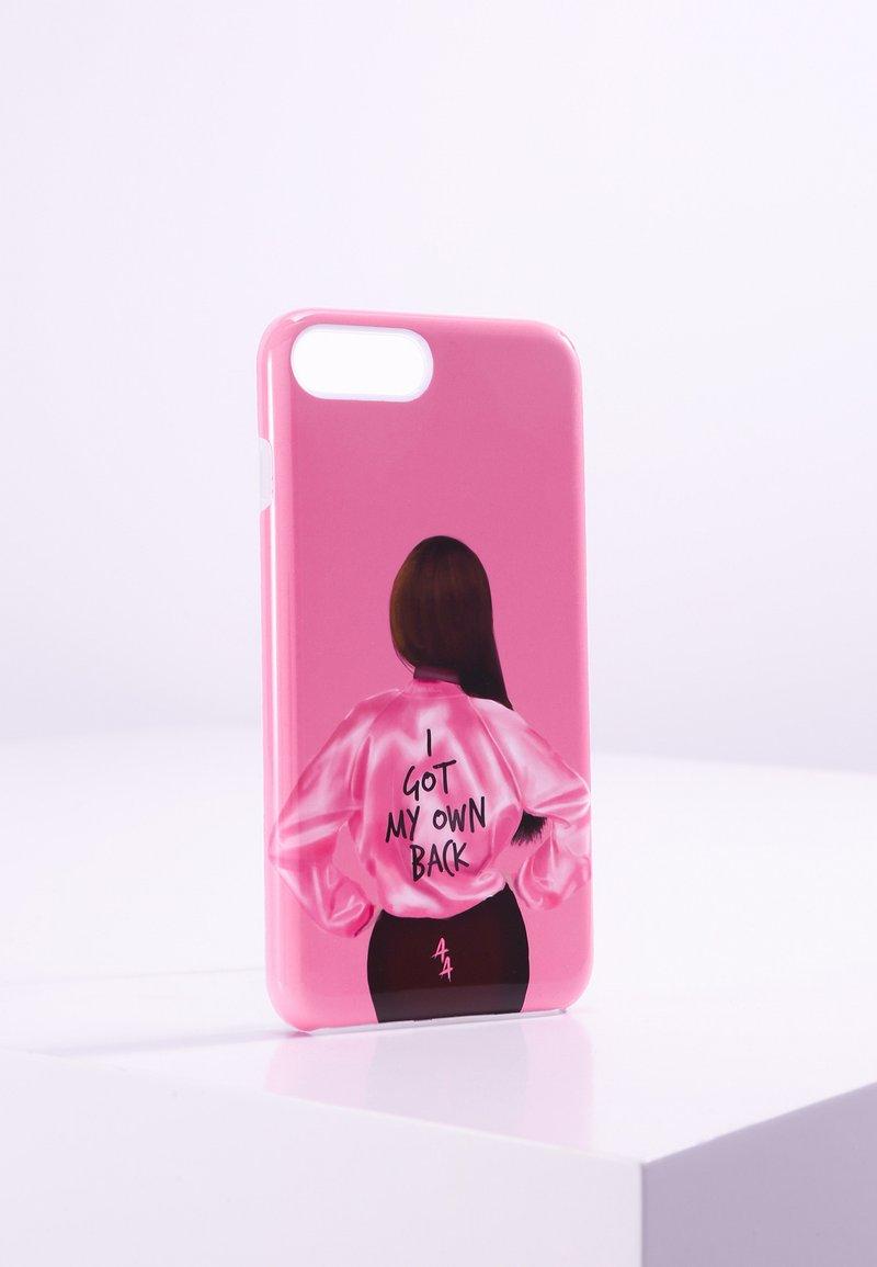 Antwerp Avenue - iPhone 6/7/8 PLUS - Telefoonhoesje - pink/black