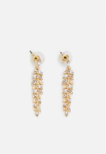 SAWIA - Earrings - clear/gold-coloured