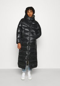 Nike Sportswear - PARKA - Down coat - black/mystic stone - 1