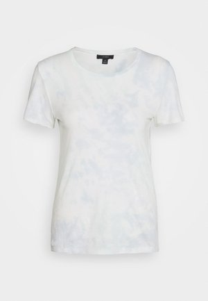 VINTAGE CREWNECK TIE DYE - Print T-shirt - blue/mint