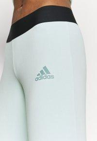adidas Performance - OLYMPIC SPORTS LEGGINGS - Leggings - green - 4