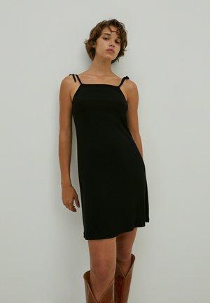 HALLIE - Day dress - schwarz