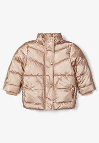 Name it - Winter jacket - gold colour - 2
