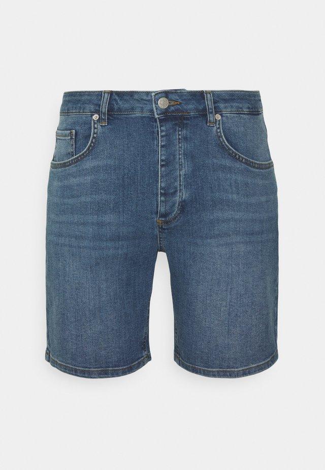 SAMDEN  - Shorts vaqueros - medium blue