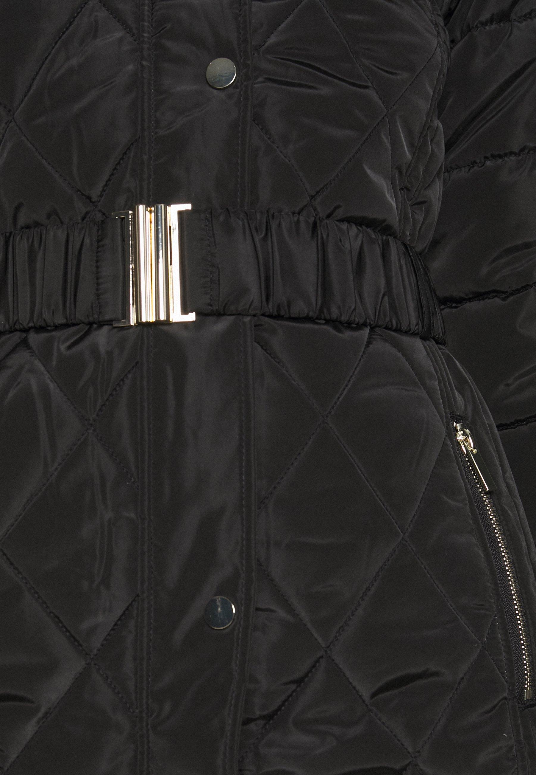 LONG LUXE Winterjas black