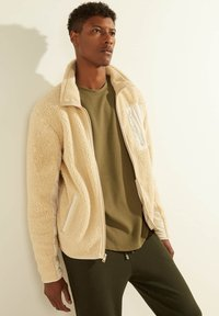 Guess - Fleece jacket - beige - 0
