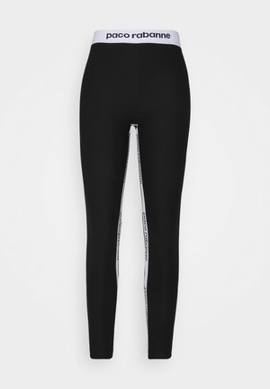 PANTALON - Leggings - Trousers - black