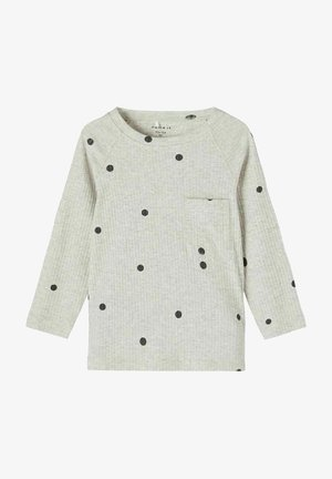 Jersey de punto - light grey melange