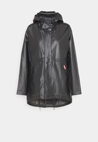 Hunter ORIGINAL - VINYL SMOCK - Parka - black - 0