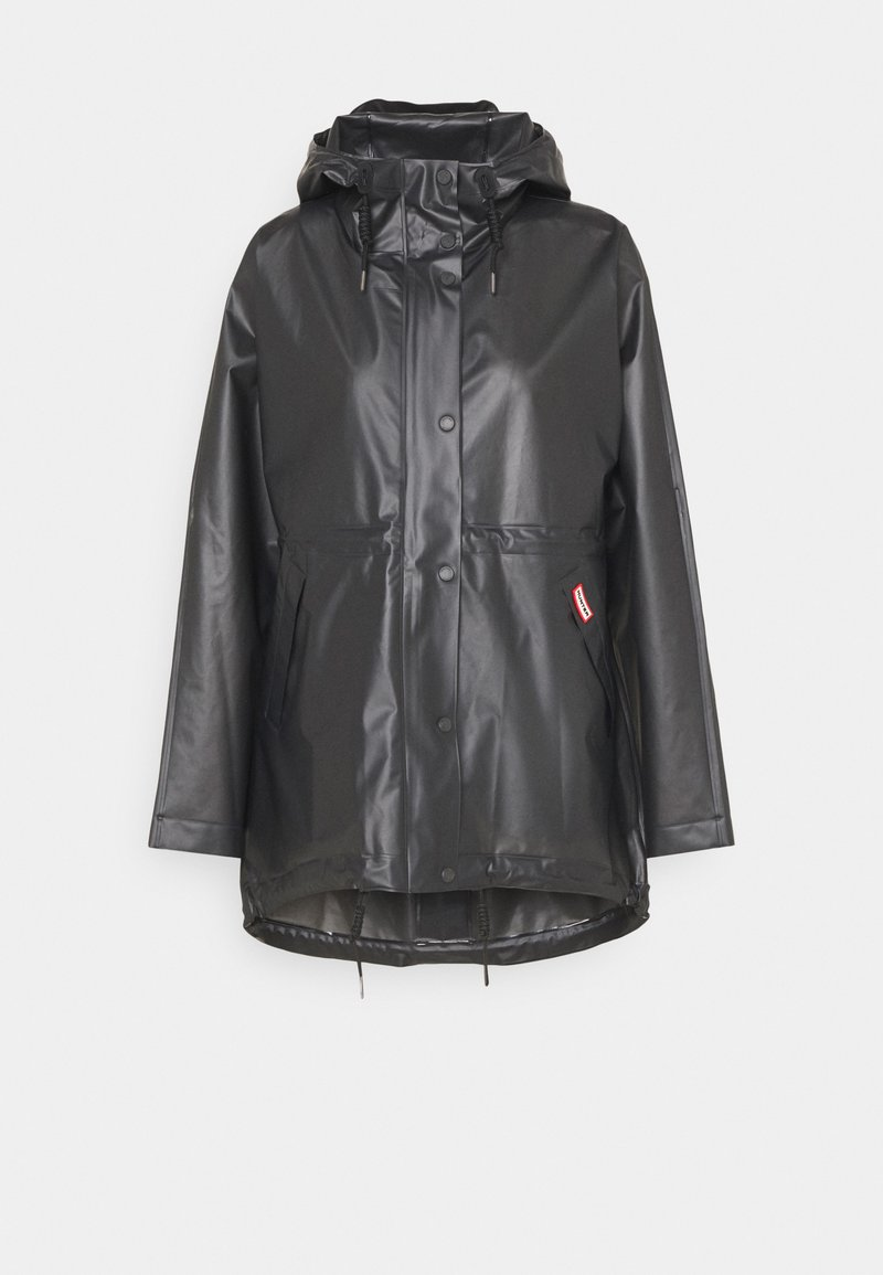 Hunter ORIGINAL - VINYL SMOCK - Parka - black