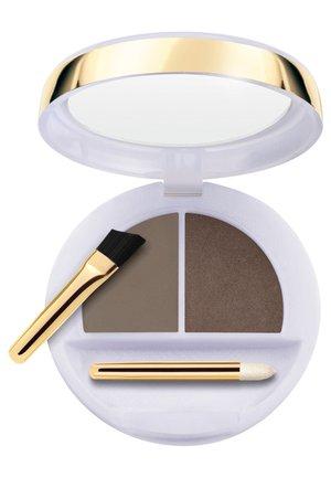 FLAWLESS EYEBROWS MODELLING WAX+COLOURED POWDER - Eyebrow powder - n.3 dark brown