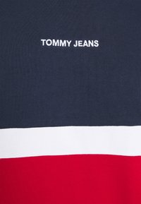 Tommy Jeans - RETRO COLORBLOCK HIGH CREW - Sweatshirt - twilight navy/multi - 5