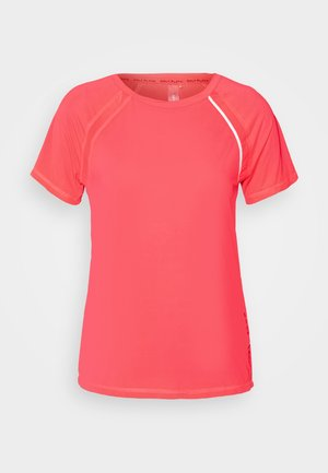ONPPERFORMANCE TRAINING LOOSE - Camiseta básica - fiery coral/black