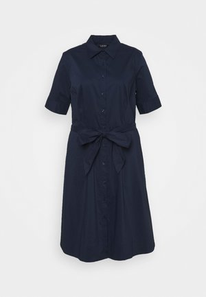 FINNBARR SHORT SLEEVE CASUAL DRESS - Shirt dress - french navy