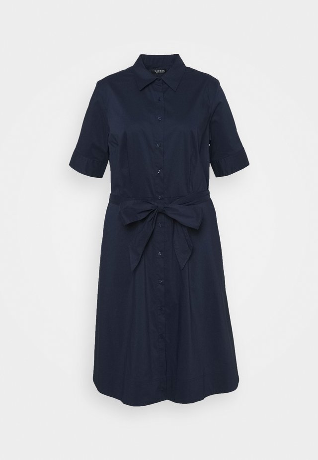 FINNBARR SHORT SLEEVE CASUAL DRESS - Robe chemise - french navy