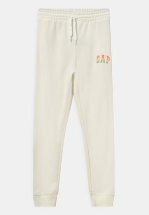 GIRLS LOGO - Pantalones deportivos - new off white