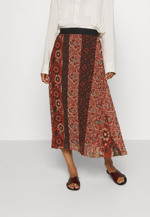 FAL ROSAL DESIGNED BY MR CHRISTIAN LACROIX - Maxi skirt - borgoña