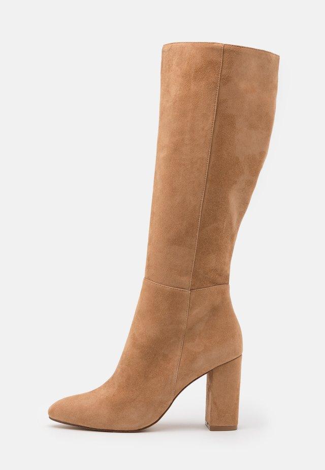 NINNY - Laarzen met hoge hak - camel
