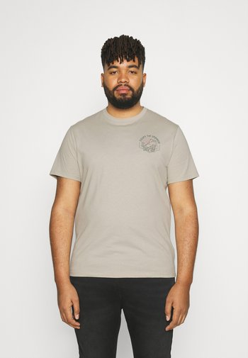 ESCAPE CREW TEE - T-shirt med print - putty