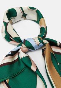 Tory Burch - MEDLEY LOGO SQUARE - Foulard - green/multi-coloured - 1