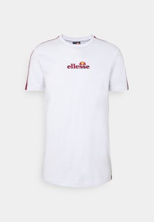 CARCANO - Print T-shirt - white