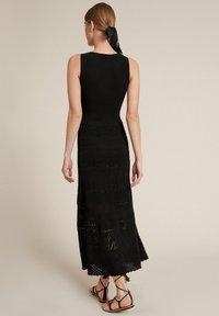 Luisa Spagnoli - CORREDO - Vestido largo - nero - 1